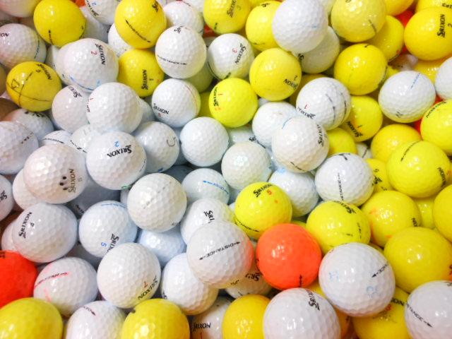 【送料無料】 スリクソン ホンマ 【マジックあり】  【60球】 コース使用OK ゴルフボール  ロストボール 【中古】