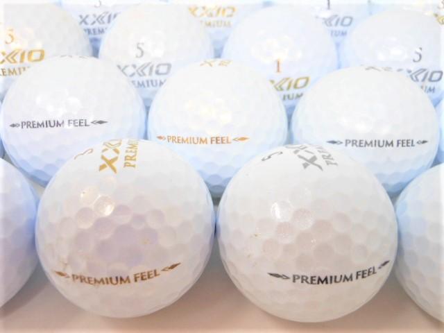 ゼクシオ XXIO PREMIUM 2020年 モデル Bランク ロストボール ゴルフボール ゼクシオプレミアム 【中古】【1球】