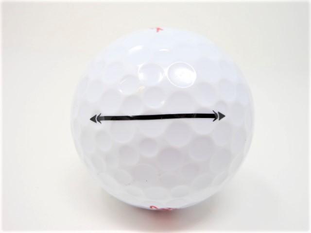 キャスコ ZEUS IMPACT ゼウスインパクト 2017年 モデル ロストボール 特Aランク ゴルフボール 【中古】【1球】
