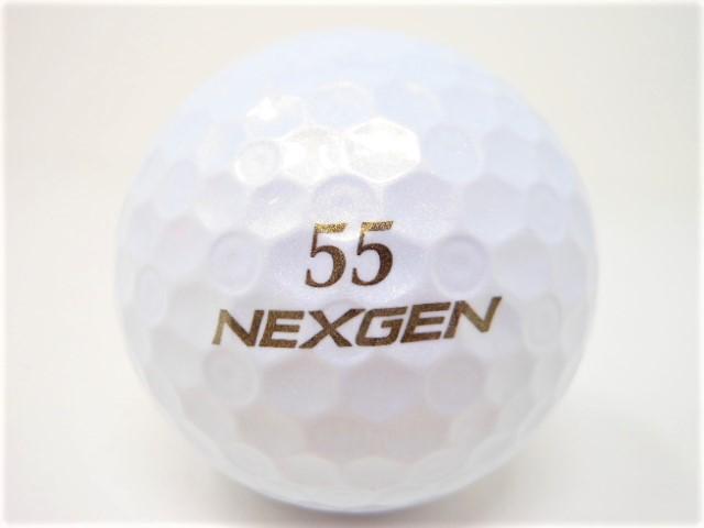ネクスジェン D-SPEC 2021年 モデル 特Aランク ロストボール ゴルフボール NEXGEN 【中古】【1球】