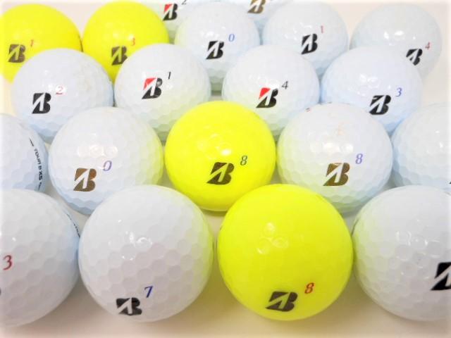 【NEWモデル】 ブリヂストン TOUR BX シリーズ 2020年 モデル ロストボール Bランク  ゴルフボール 【中古】