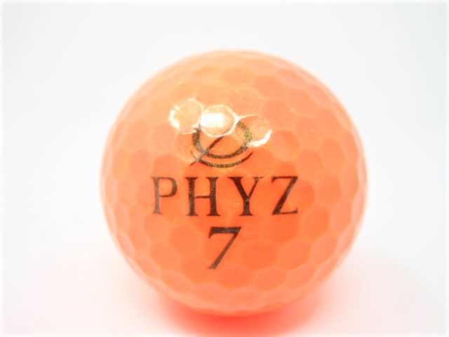 ブリヂストン PHYZ 2015年 モデル ロストボール 特Aランク ゴルフボール 【中古】【1球】