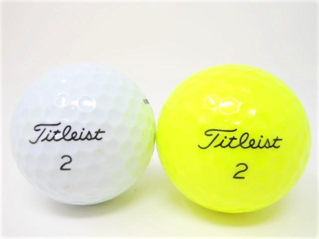 タイトリストTOUR SOFT 2020年 モデル ロストボール 特Aランク ゴルフボール 【中古】