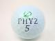 ブリヂストン PHYZ 2017年 モデル ロストボール 特Aランク ゴルフボール 【中古】 【1球】