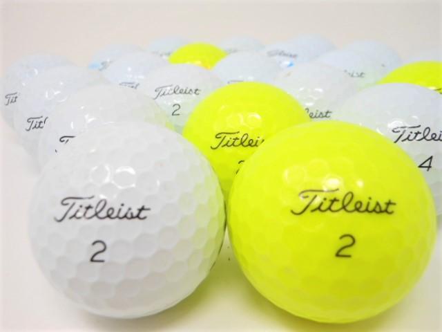 タイトリスト AVX '20 '18 Bランク ゴルフボール 【中古】 ロストボール【1球】