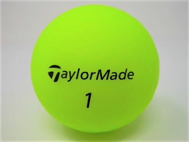 テーラーメイド DISTANCE+SOFT 2019年 モデル 特Aランク ロストボール ゴルフボール 【中古】【1球】