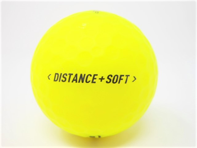 テーラーメイド DISTANCE+SOFT 2019年 モデル 特Aランク ロストボール ゴルフボール 【中古】