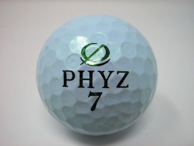 ブリヂストン PHYZ 2013年 モデル ロストボール 特Aランク ゴルフボール 【中古】【1球】
