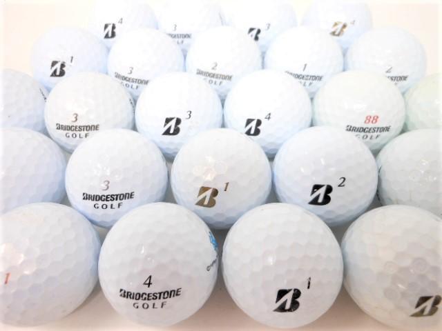 【送料無料】ブリヂストン BSシリーズ限定 40球   Bランク ロストボール ゴルフボール 【中古】