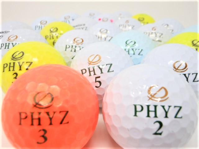 【送料無料】ブリヂストン PHYZ ファイズ 40球  シリーズ  Bランク ロストボール  【中古】