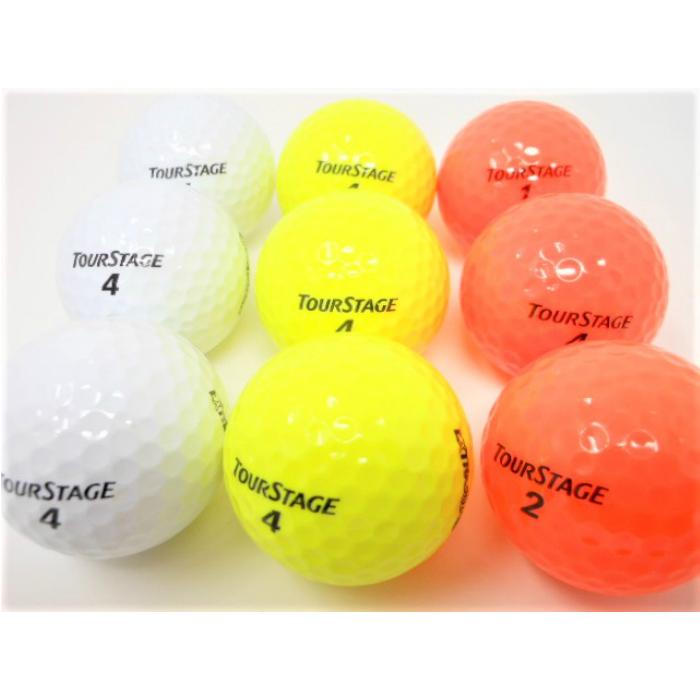 ツアーステージ EXTRA DISTANCE エキストラディスタンス 2014年 モデル ロストボール 特Aランク ゴルフボール 【中古】【1球】