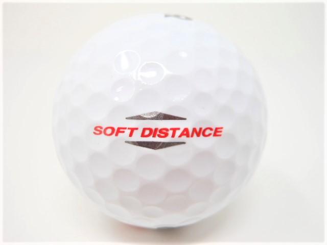 プロギア SOFT DISTANCE ソフトディスタンス 2014年 モデル 特A・Aランク混合 ロストボール ゴルフボール 【中古】【1球】