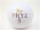 ブリヂストン PHYZ5 2019年 モデル ロストボール 特Aランク ゴルフボール 【中古】【1球】