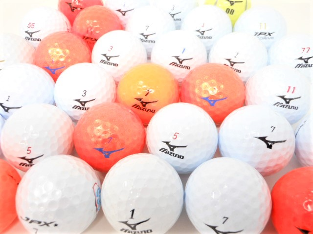 ミズノ 限定 特A・Aランク混合 ロストボール ゴルフボール 中古【1球】