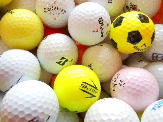 【送料無料】 超お得 300球 自宅練習用激安ボール ロストボール ゴルフボール 【中古】