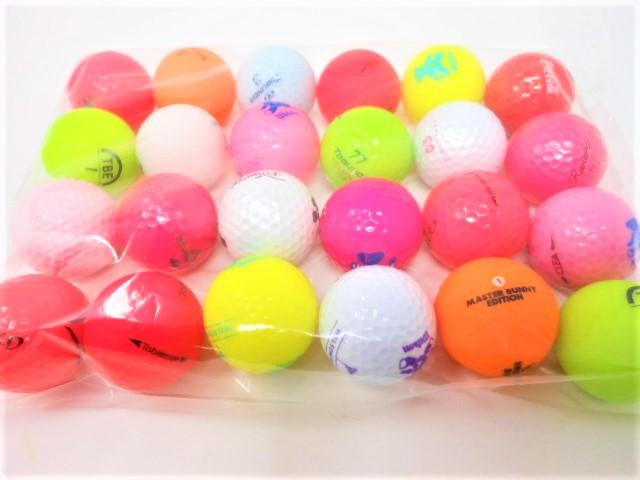 【送料無料】 ビギナーにおススメする格安40球セットボール ロストボール  ゴルフボール 【中古】