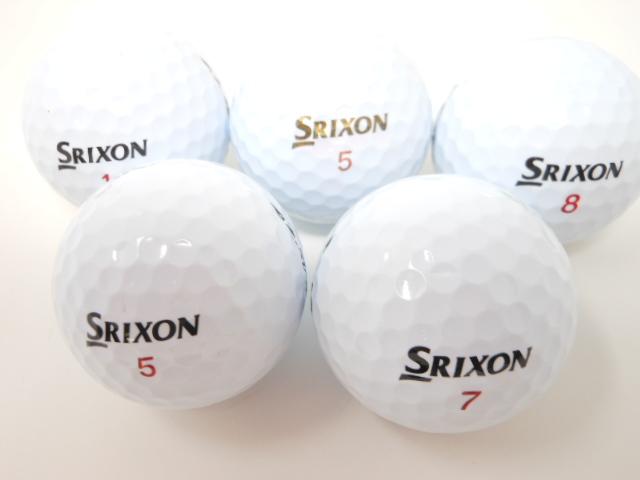 スリクソン Z-STAR シリーズ 2019年 モデル ロストボール  Aランク ゴルフボール 【中古】 【1球】