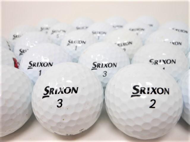 【送料無料】 スリクソン Z-STAR シリーズ 2015年 以前モデル 40球 セット ロストボール Bランク ゴルフボール 【中古】