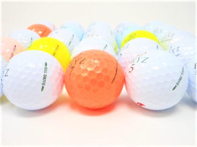 【送料無料】 ブリヂストン PHYZ ファイズ 限定20球セット ロストボール Aランク  ゴルフボール 【中古】
