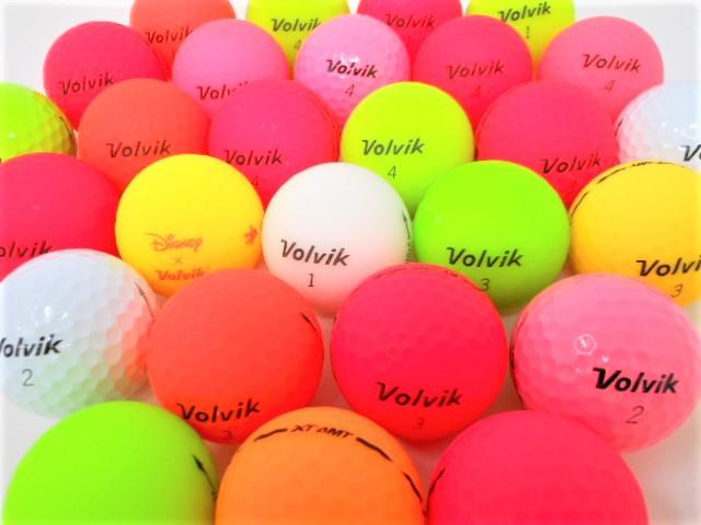VOLVIK ボルビック シリーズ限定 特A・Aランク混合 ロストボール ゴルフボール 【中古】 【1球】