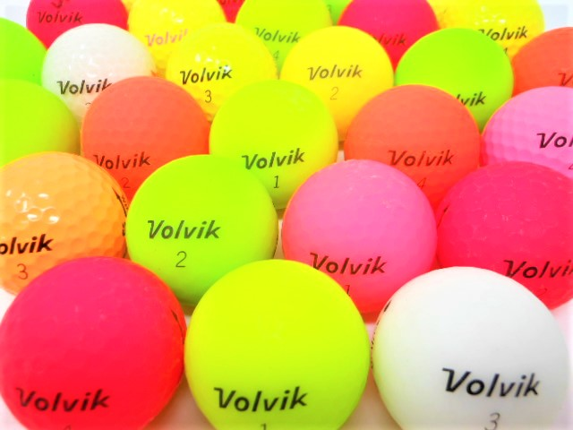 【送料無料】 VOLVIK ヴォルビック 限定 20球 セット ロストボール Bランク ゴルフボール 【中古】