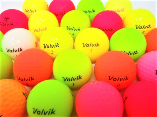 【送料無料】 VOLVIK ボルビック 限定 20球 セット ロストボール Bランク ゴルフボール 【中古】