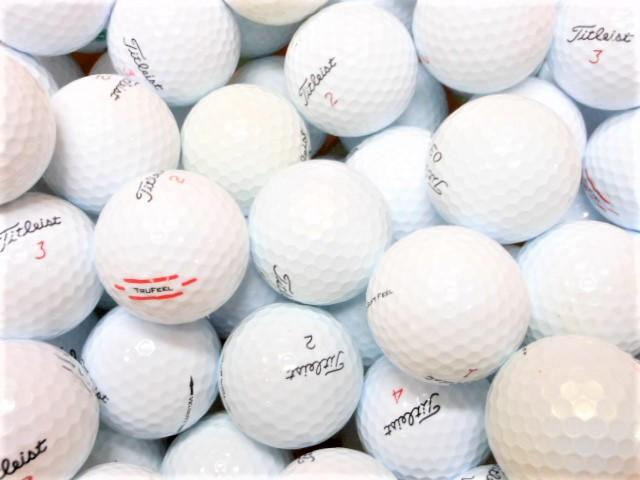 【送料無料】 タイトリスト 40球  限定 Bランク ロストボール ゴルフボール 【中古】