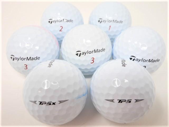 テーラーメイド TP5 シリーズ 2019年 モデル ロストボール  Aランク ゴルフボール 【中古】【1球】