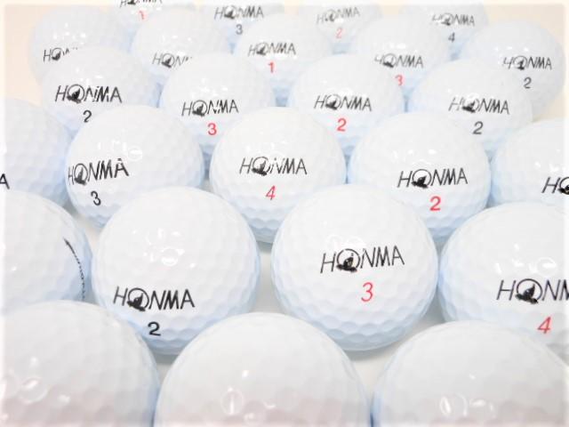 【送料無料】 ホンマ TW シリーズ限定 特Aランク・Aランク混合 20球パック ロストボール ゴルフボール 【中古】【20球】