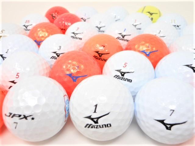 【送料無料】 ミズノ 限定 特A・Aランク混合 20球パック ロストボール ゴルフボール 中古【20球】