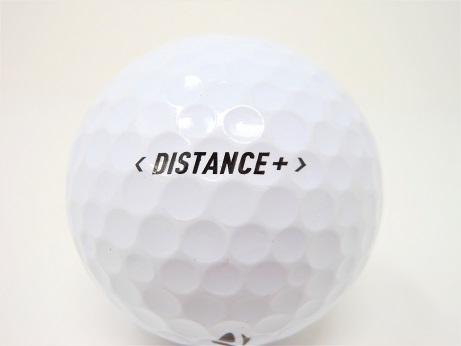 テーラーメイド DISTANCE+ ディスタンスプラス 2019年 モデル ロストボール 特Aランク ゴルフボール 【中古】【1球】