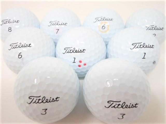 タイトリスト ProV1 シリーズ 2021年 モデル ロストボール Aランク ゴルフボール 【中古】 【1球】 プロV1 プロV1X
