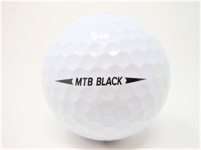 スネル MTB BLACK 2019年 モデル ロストボール 特Aランク ゴルフボール 【中古】【1球】