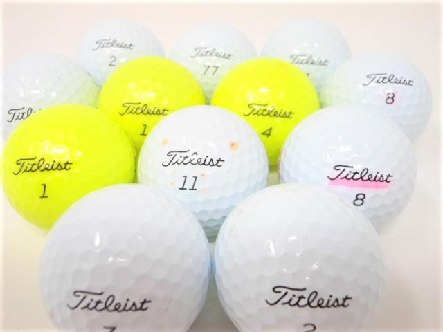 タイトリスト ProV1 シリーズ 2021年 モデル ロストボール Bランク ゴルフボール 【中古】 【1球】 プロV1 プロV1X