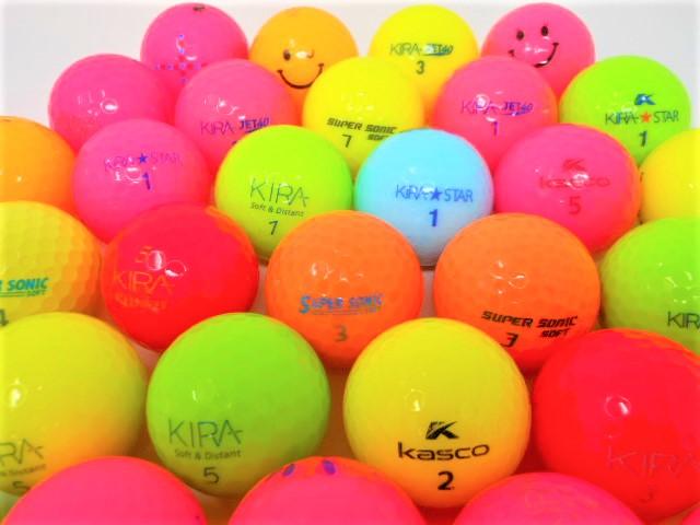 【送料無料】キャスコ シリーズ 特Aランク・Aランク混合 20球パック ロストボール ゴルフボール 【中古】