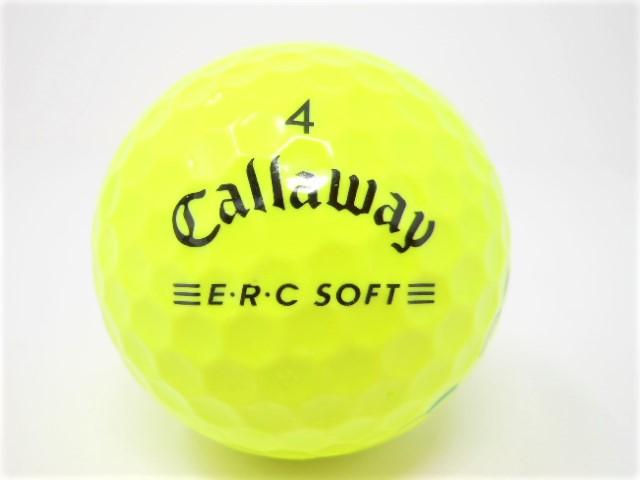 キャロウェイ E・R・Cソフト 2021年 モデル ロストボール 特Aランク  【中古】【1球】 トリプルトラック