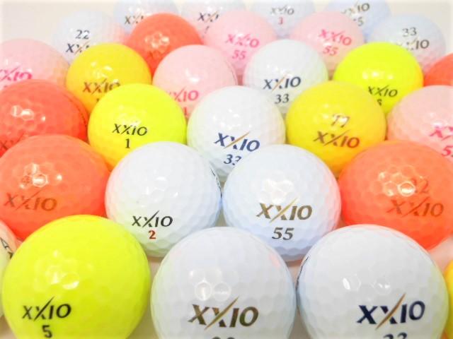 【送料無料】 ゼクシオ XXIO 20球 銘柄混合お買い得パック ロストボール 特Aランク・Aランク混合 ゴルフボール 【中古】