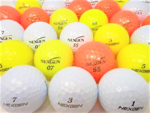 ネクスジェン 限定 Bランク ロストボール ゴルフボール 【中古】【1球】