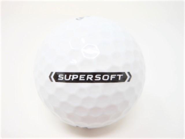 キャロウェイ スーパーソフト 2021年 モデル ロストボール 特Aランク SUPER SOFT 【中古】【1球】