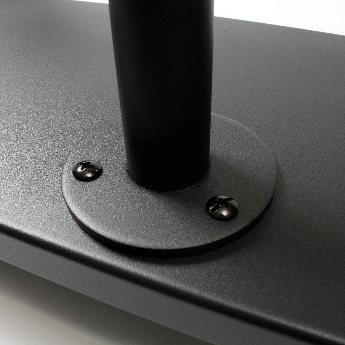 収納スペース付きモニタースタンド モニターアーム\スタンド式