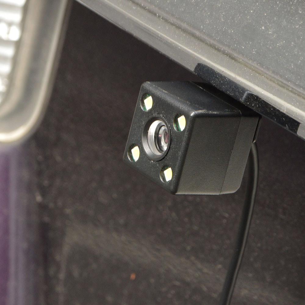 3インチ360度ドライブレコーダー&リアカメラ