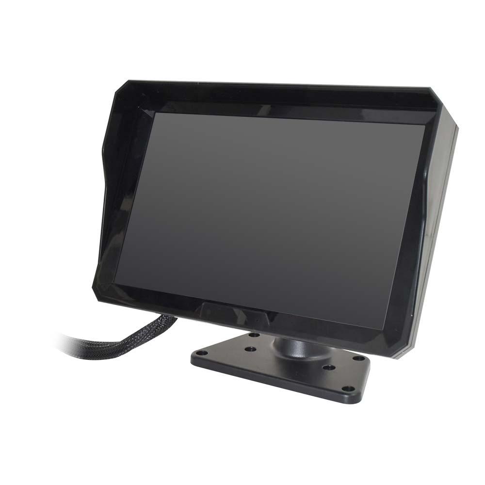 死角モニターにもなる業務用6カメラドライブレコーダー