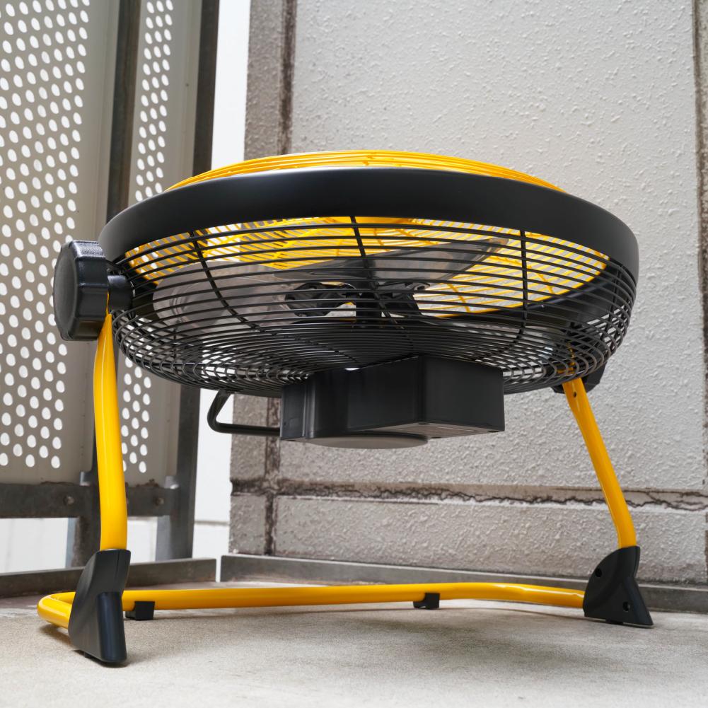 持ち運べる充電式「コードレスDCモーター40cm扇風機」