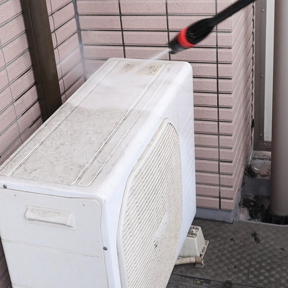 配管洗浄ホース付き強力高圧洗浄機