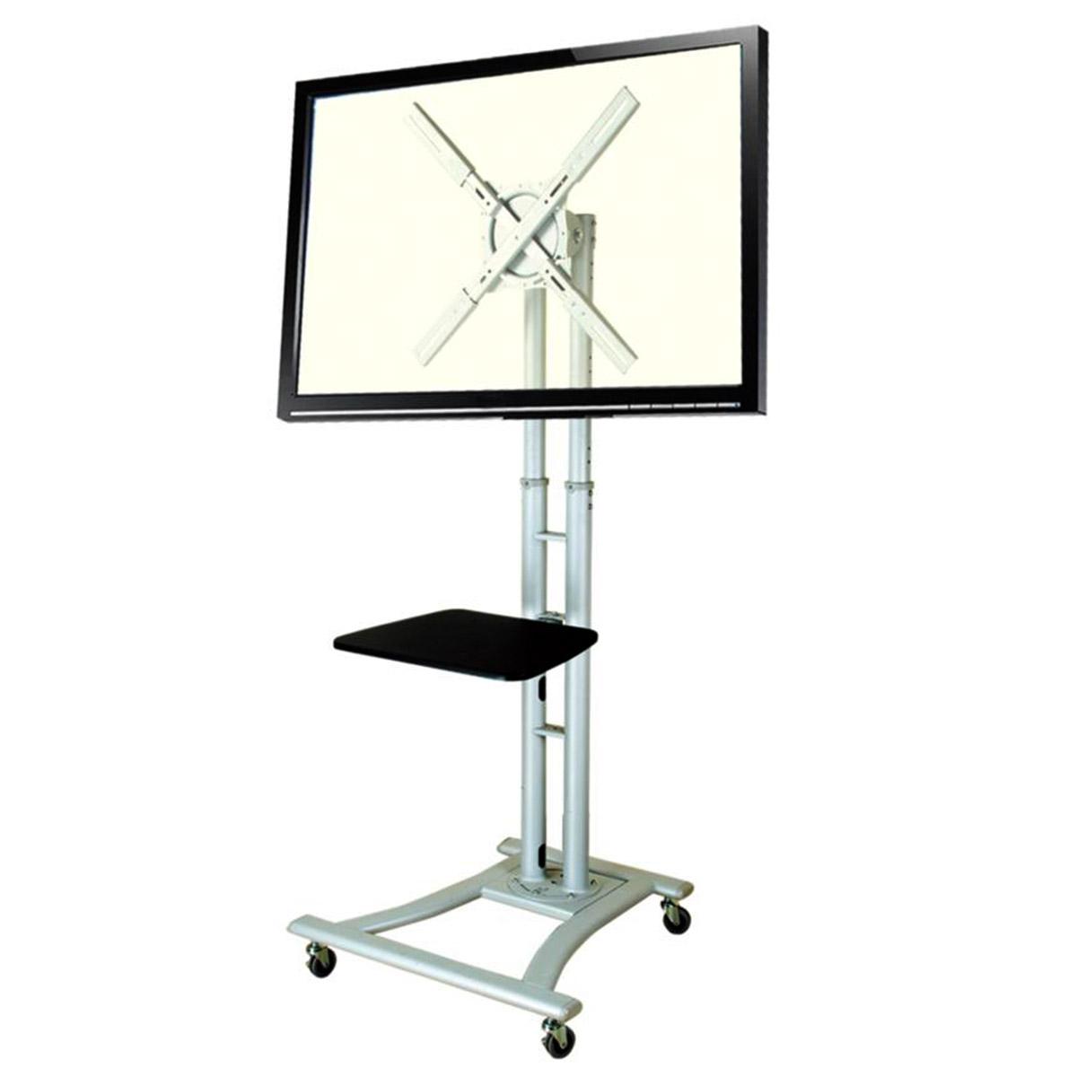 大型TV移動式スタンド(縦置き・横置き両対応)