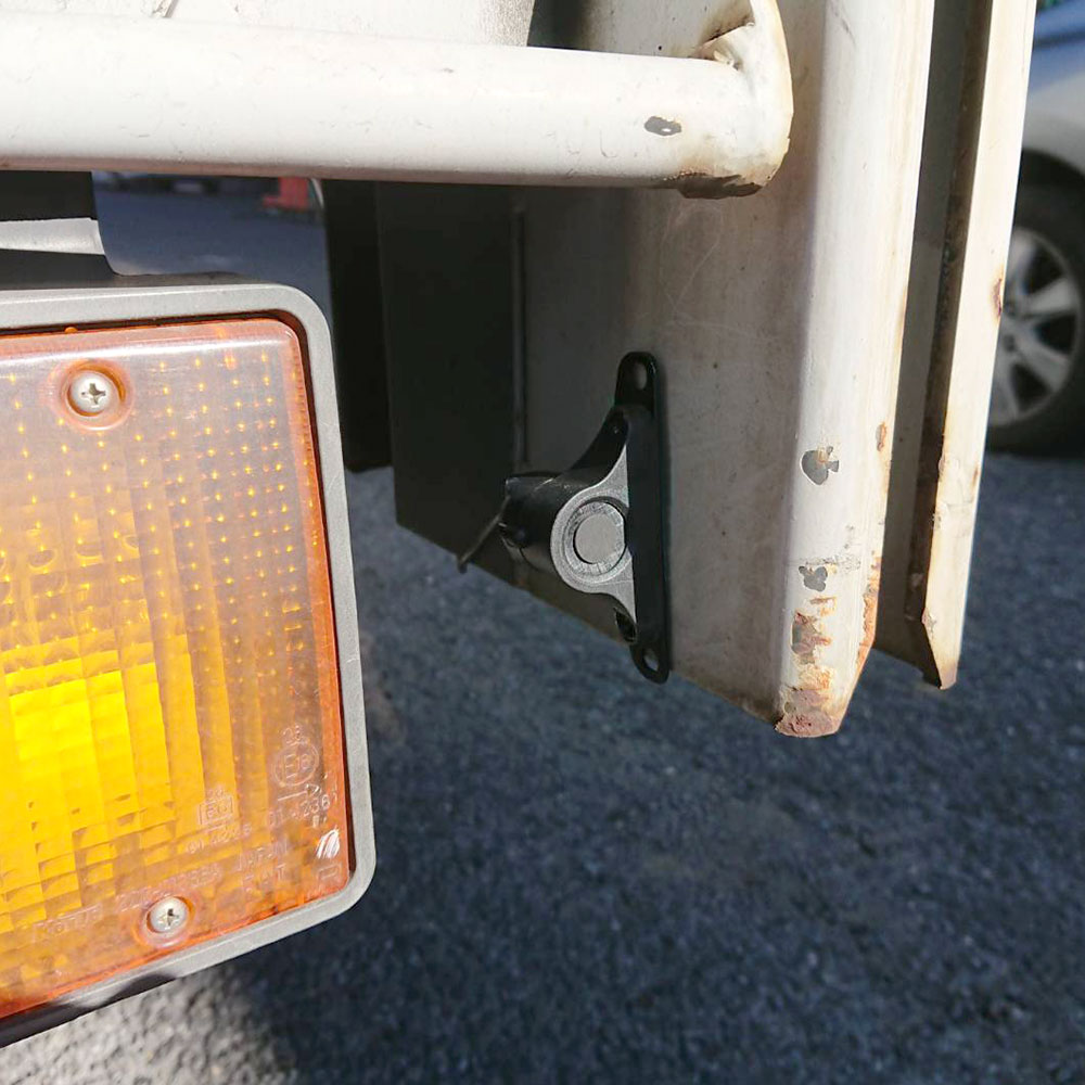 トラック&建機、フォークリフト用セーフティセンサー