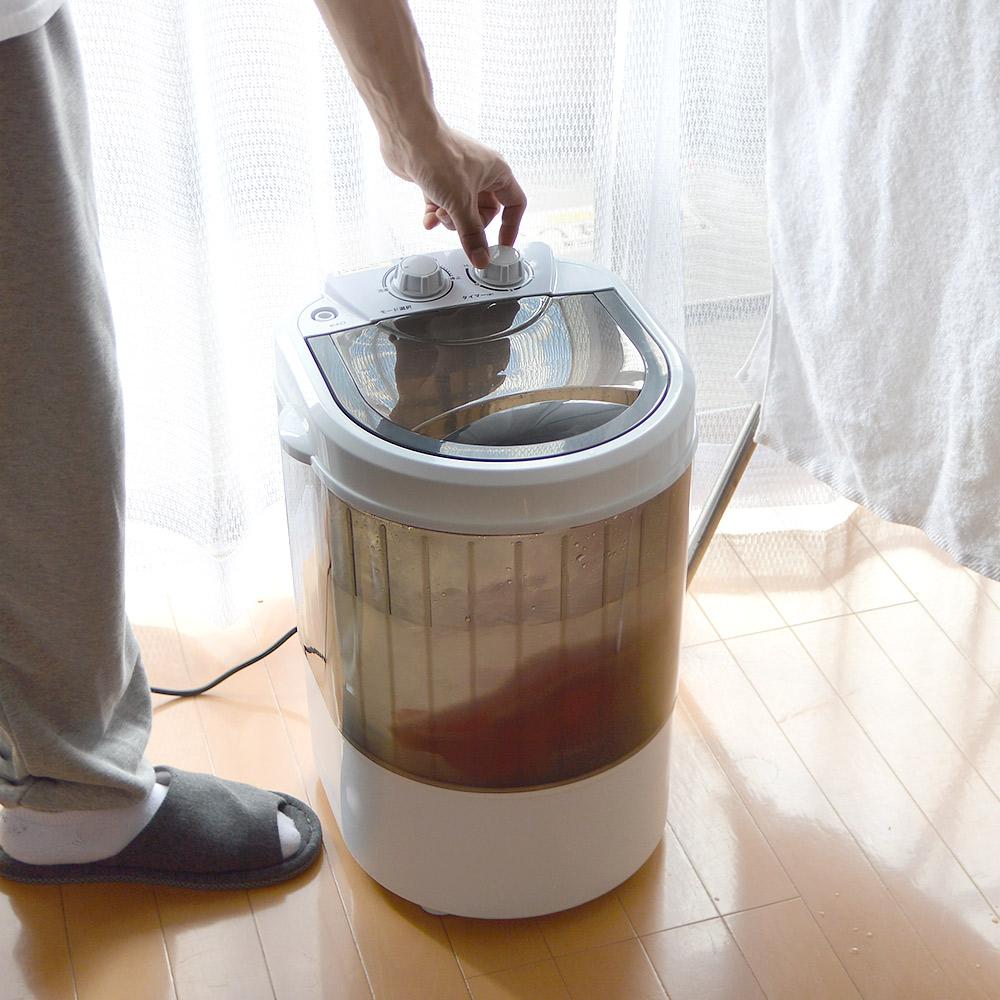 コンパクト洗濯機