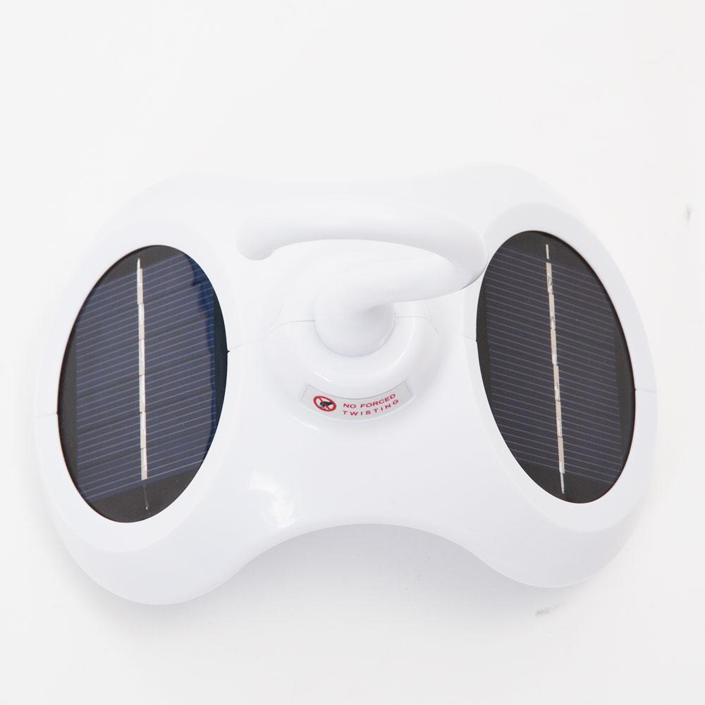 360度ソーラー回転ハンガー「くるくるカラりん」