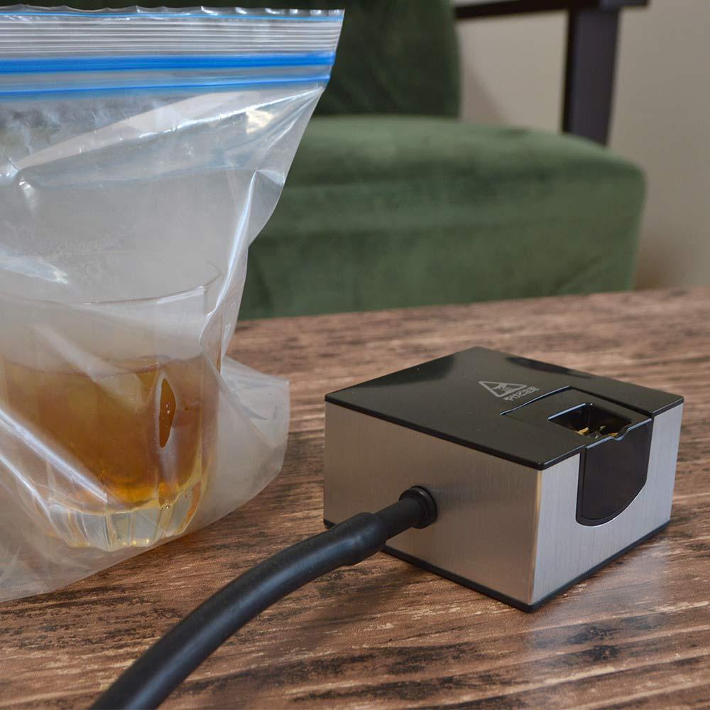 おうちで簡単「卓上燻製器」
