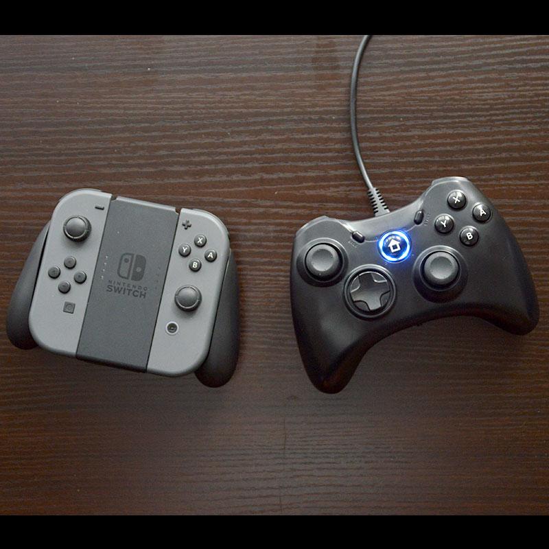 Nintendo Switch用 有線軽快コントローラー